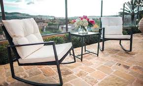 c u left corner chair outdoor patio furniture espresso brown wicker red modenzi reviews