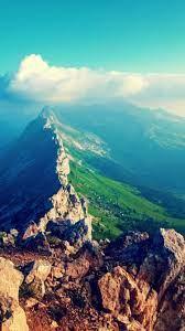 Mountain Peaks iPhone 6 Wallpaper HD ...