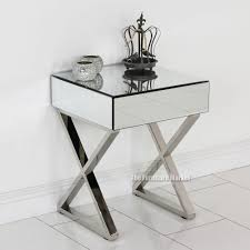 Mirrored Side Tables Bedroom Mirrored Side Tables For Bedroom Beautiful Cheap Mirrored