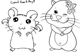 Coloring Pages Hamster Page Cute Humphrey The Chronicles Network