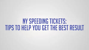 With Ny In Nj Speeding Tickets License