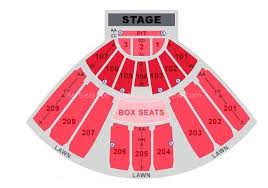Concord Pavilion Concord Ca Seating Chart View