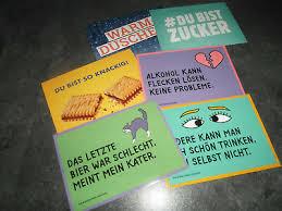 6 Spruchkarten Postkarten Lustige Sprüche Kumpel Freundschaft Karten