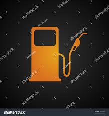 Gas Warning Light Fuel Pump Icon Empty Fuel Tank Stock Vector Royalty Free