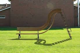 unusual outdoor furniture. garden furniture bench with slide unusual outdoor s