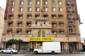 Weeks later, after disappearing, her body was discovered in the hotel's rooftop water. Netflix Announces True Crime Series About Downtown L A S Infamous Cecil Hotel