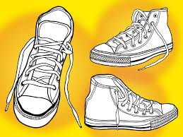 converse shoes clipart. pin converse clipart basketball shoe #6 shoes