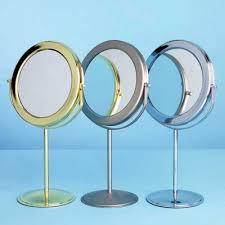 Cashback e side of this Debenhams bathroom mirror is magnifying