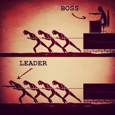 leader vs boss love this one truth leader boss inspire tops