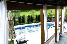 outdoor curtains photo gallery 3 pipe and drop cloth for patio