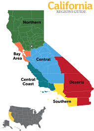 California Regions California Regions