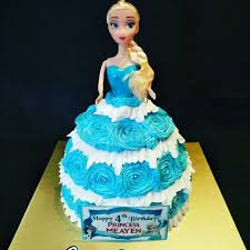 Frozen Elsa Doll Birthday Cake Need A Cake Contact Us At 86069748