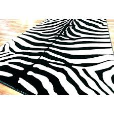 black and white zebra rug amazing print large all in 18