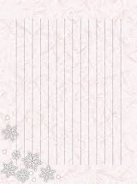 和紙の便箋縦書き雪の結晶のイラスト背景 無料イラスト素材素材ラボ
