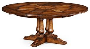 59 to 74 round country style dining table with leaves traditional dining tables other by antiquepurveyor