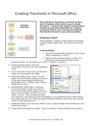 Creating Flowcharts In Microsoft Office Iits Haverford