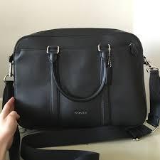 coach men s briefcase nwt