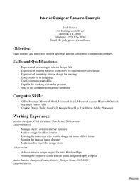 Resume Examples Uk Interior Design Resume Samples Picture Tomyumtumweb Designer Cv 19