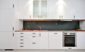 Kitchens Modern White Kitchen Cabinets on Dark Kitchens with Wood or