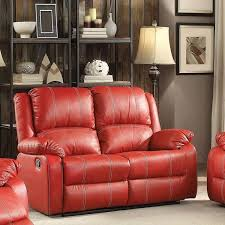 large picture of acme furniture zuriel 52151 reclining loveseat
