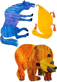 Eric Carle Brown Bear Colouring Pages