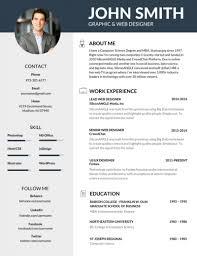 Editable Resume Design Templates Templates Resume Examples