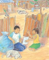 Image result for armando and the blue tarp school images