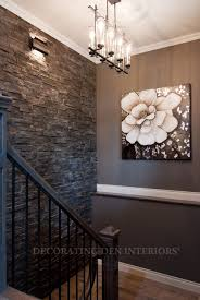 Stone wall for basement- LOVE THIS and the dark wall!: Stone wall for  basement- LOVE THIS and the dark wall!