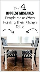 diy chalk paint dining table grey how to my black painting kitchen difficult