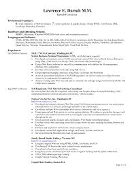 Examples Resumes Standard Format Resume In Canada Standard Resume