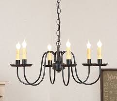 top 925 ideas about primitive country lighting large 6 armed wrought iron candelabra this stunning primitive country chandelier will most certainly become the