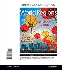 Amazon.com: World Regions in Global Context: Peoples, Places, and  Environments, Books a la Carte Edition (9780134153681): Marston, Sallie,  Knox, Paul, Liverman, Diana, Del Casino Jr., Vincent, Robbins, Paul: Books