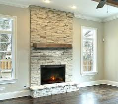 stacked stone fireplace surround stacked stone fireplace stone veneer fireplace surround ideas re for white stacked
