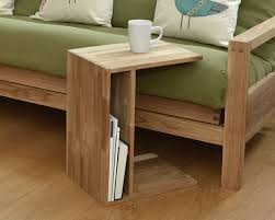 coffee table oak side table mutable form table has a drawer to items on