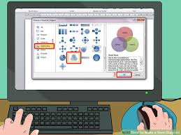 Microsoft Office Venn Diagram How To Make A Venn Diagram 15 Steps With Pictures Wikihow