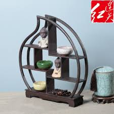 Wooden Display Stands For Figurines Shape Of Peach Wooden Display Stand Rosewood Figurines 31