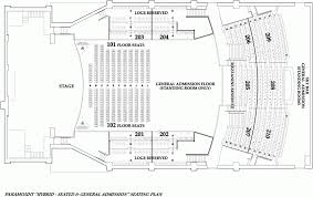 Paramount Theater Asbury Park Seating Chart Seating Chart The Paramount Huntington Ny