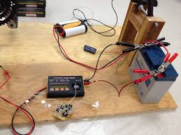 how to make a simple electric generator. Picture Of Step 5: Charger To Battery How Make A Simple Electric Generator E