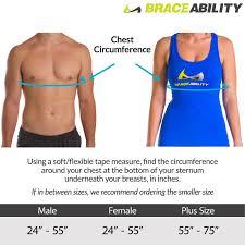 Broken Rib Brace Support Belt For Cracks Fractures