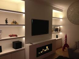 modern interior heater design with nice ethanol fireplace modern family room design with ethanol fireplace