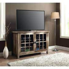 glass and wood tv stands rustic stand console inch entertainment center media glass doors cabinet wooden glass and wood tv stands
