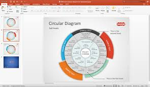Slide Circle Free Free Multi Level Circular Diagram Powerpoint Template Free