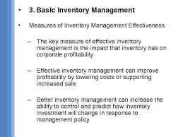 Lection 3 Inventory Concept 1 Definition Of Inventory