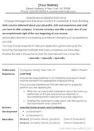 Resume Font Size And Format From Type Resumes Type A Resume How To