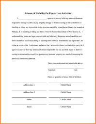 Example Of Release Of Liability Form 24 General Release Template Bussines Proposal 24 10