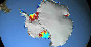 antarctic ice sheet growing nasa supervolcano may be melting antarctic ice sheet from below
