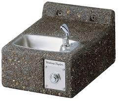 stone concrete drinking fountain