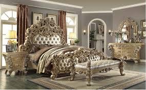 Furniture Classic Design Hd 7012 Homey Design Bedroom Set Victorian European Classic Style