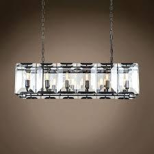 medium size of crystal rectangular chandelier restoration hardware rectangular crystal chandelier with shade marvelous rectangular crystal