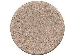tropitone stoneworks faux granite stone 42 round solid table top